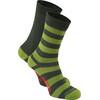 Craghoppers NosiLife Travel Calze Uomini Twin Pack grigio/verde oliva
